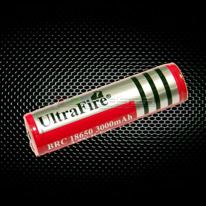 18650 Herlaaibare Battery - 3000mAh UltraFire