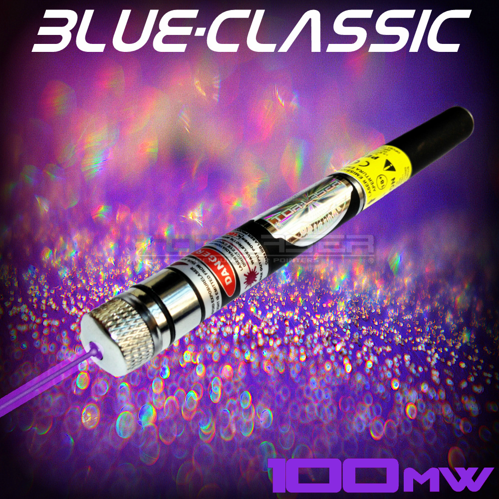 BlueClassic - 100mW Violet Laser Pointer by TorLaser