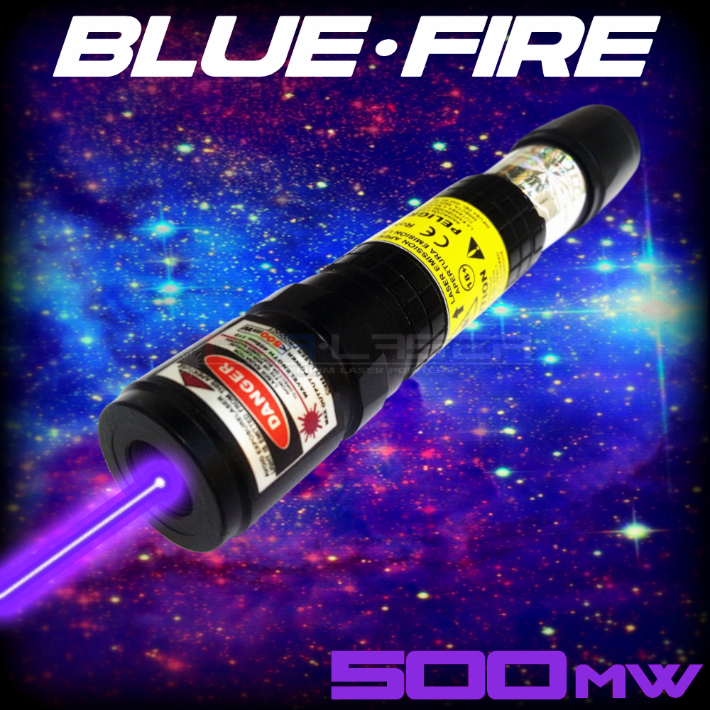 BlueFire - 500mW Violet Laser Pointer by TorLaser