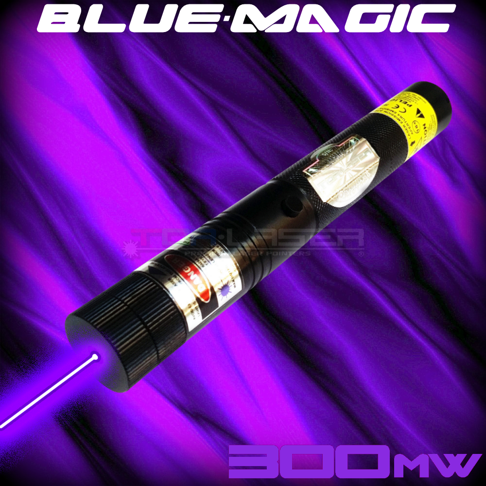 BlueMagic - 300mW Violet Laser Pointer ni TorLaser
