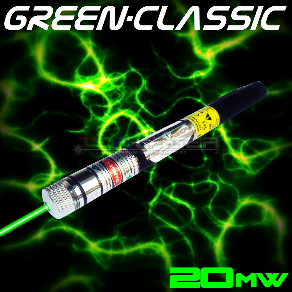 GreenClassic - 20mW Green Laser Pointer by TorLaser