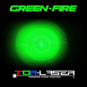 GreenFire - 200mW Green Laser Pointer by TorLaser