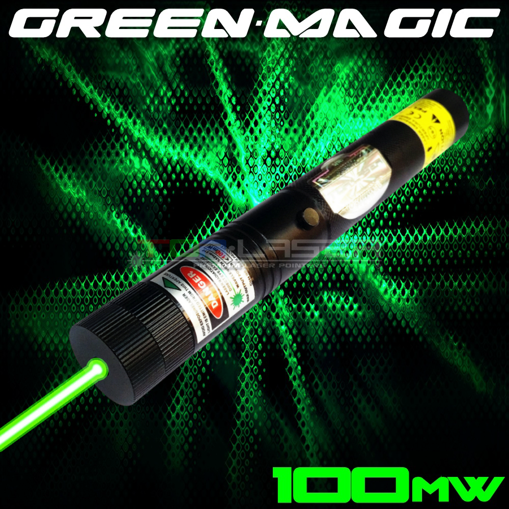 GreenMagic - 100mW Green Laser Pointer by TorLaser