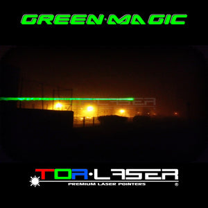 GreenMagic - 100mW Laser Laser Pointer di TorLaser