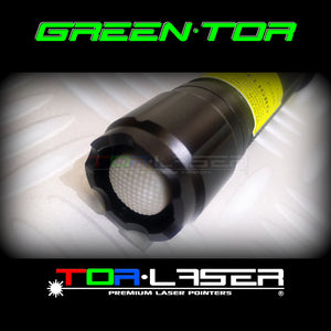 GreenTor - 500mW Pointer Laser Green ji hêla TorLaser ve
