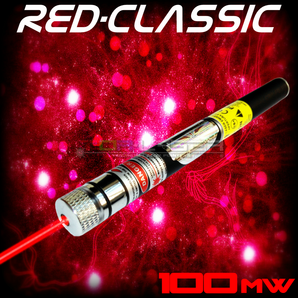 RedClassic - 100mW Red Laser Pointer e le TorLaser