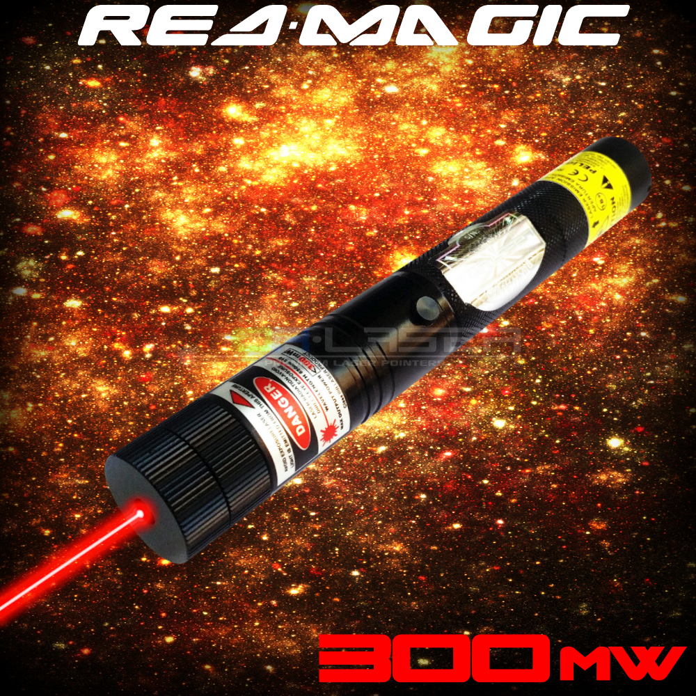RedMagic - 300mW Red Laser Pointer ta TorLaser