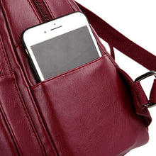 Load image into Gallery viewer, Leather Backpack - Sophia