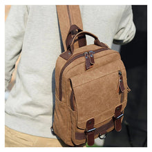 Load image into Gallery viewer, Canvas Backpack - Pedro