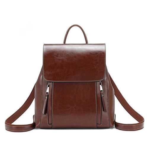 Backpack, Leather Backpack, Leather Backpack Brown, Backpack for school, Small Backpack, Backpack Bag