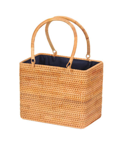 Rattan Bag - Straw Bag - Bali Bag - Handbag - Vintage Straw Bag - Vintage Bag - Top handle Bag - Woven Rattan Bag - Woven Bag - Handbags