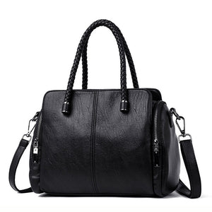 Genuine Leather Tote - Emily