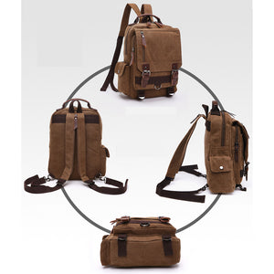 Canvas Backpack - Pedro