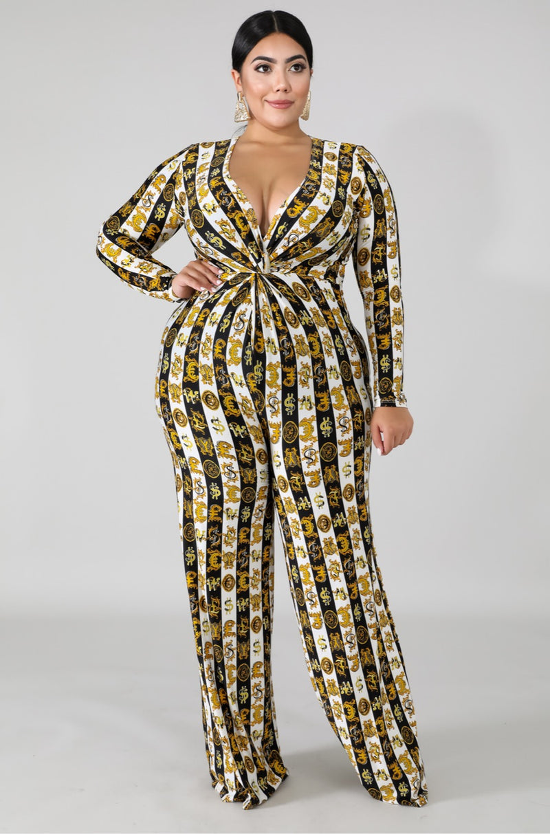 Women's Long Sleeve Fancy Merigold Jumpsuit