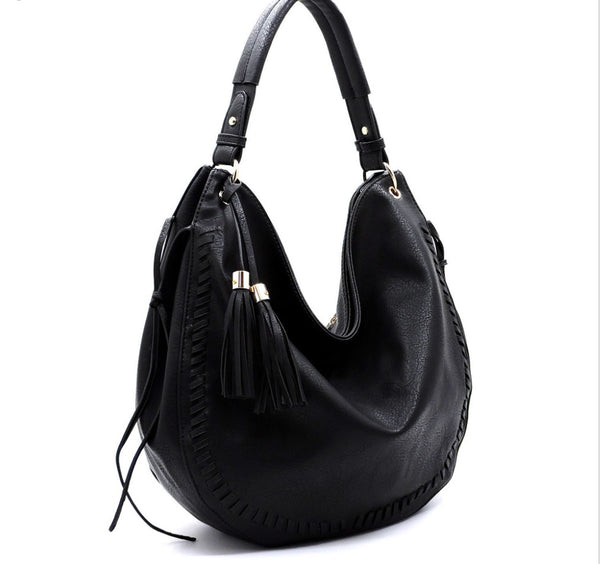 Women's Tassel Shoulder Bag