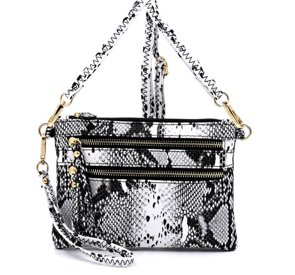 Women's Snake Skin Crossbody