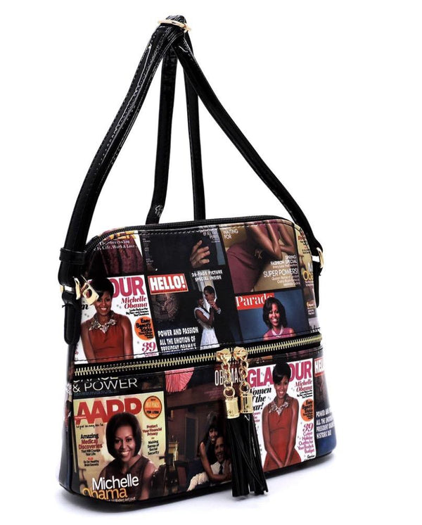 Women's Magazine Cover Crossbody