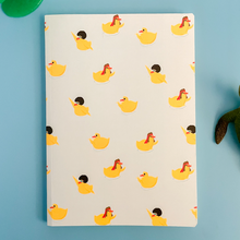 Load image into Gallery viewer, Disco Rubber Ducks Pattern Notebook Slightly Marked