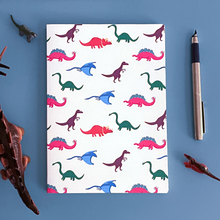 Load image into Gallery viewer, Dinosaur Pattern Notebook