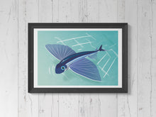 Load image into Gallery viewer, Flying Fish   Print