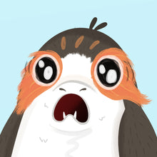 Load image into Gallery viewer, Porg   Print Illustrated