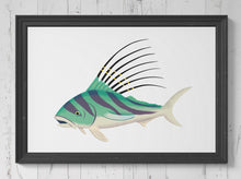 Load image into Gallery viewer, Roosterfish Print