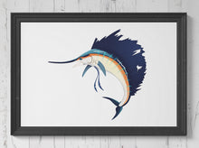 Load image into Gallery viewer, Sailfish Print