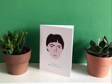 Load image into Gallery viewer, Paul McCartney - Greeting Card