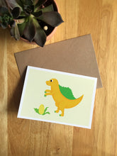 Load image into Gallery viewer, Spinosaurus - Greeting Card