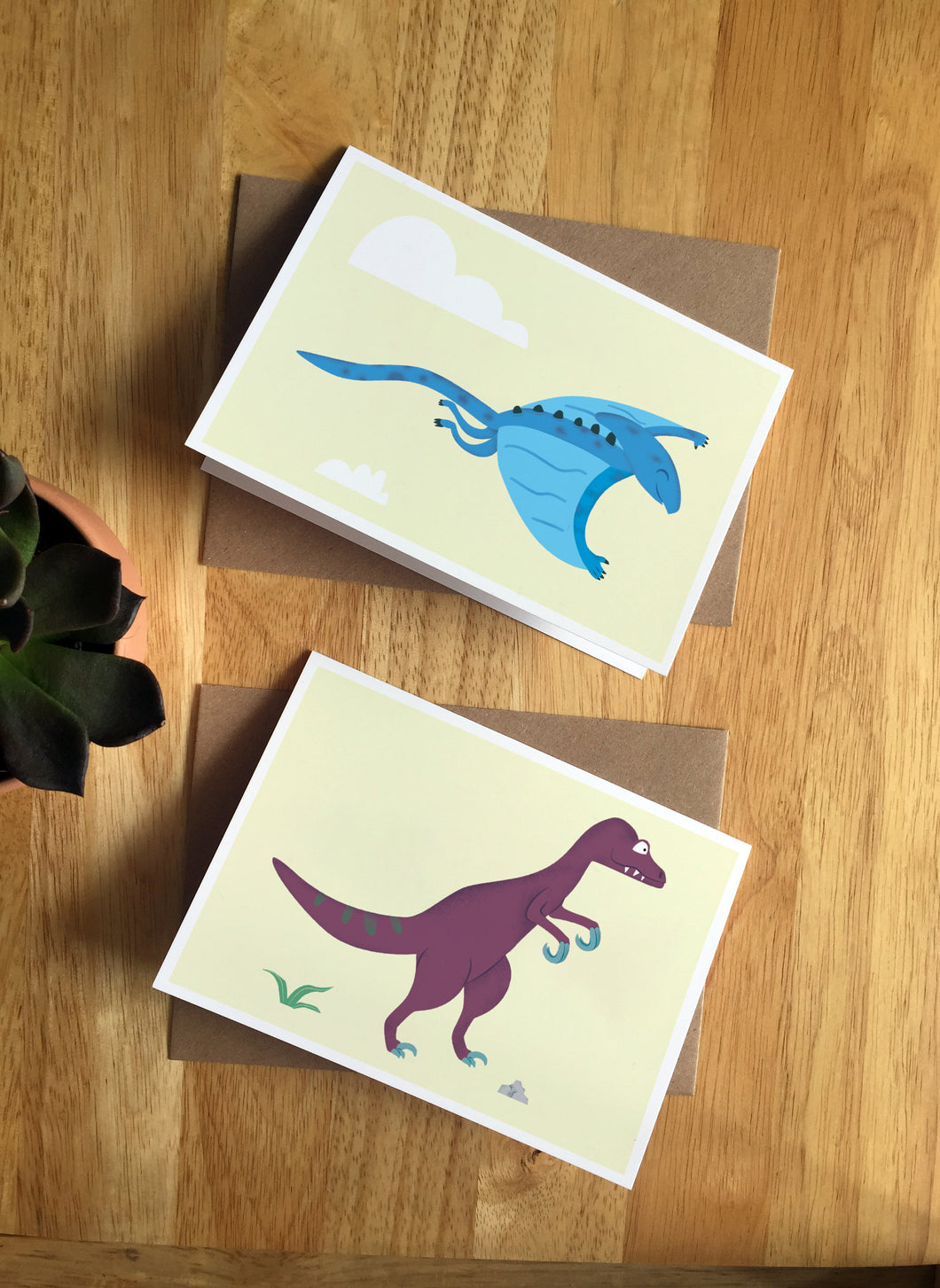 Dinosaur Greetings - Greeting Cards Bundle