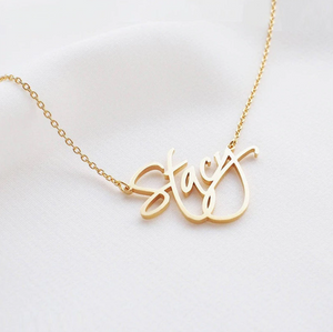 Custom Name Necklace Font 1-5