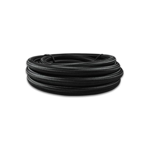 Vibrant Black Nylon Flex Hose - 10 Foot Roll-AN Fittings & Hose-Speed Science