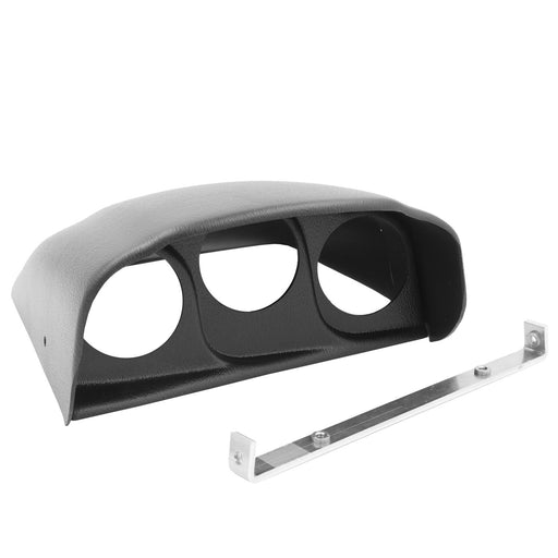 AutoMeter 03-07 Dodge Ram Triple Dash Pod - Black