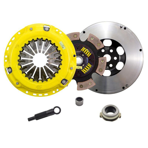 ACT 6 Puk Heavy Duty Race Clutch Kit w' Flywheel - MPS3/6-Clutch Kits-Speed Science