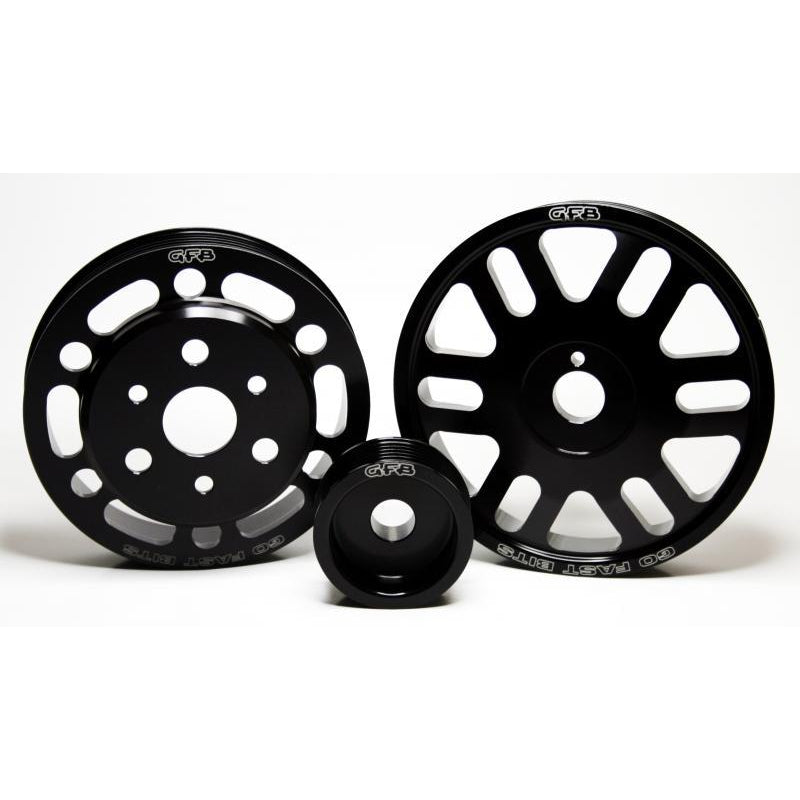 GFB 3-Piece Lightweight Pulley Kit - BRZ/86/FR-S-Pulleys-Speed Science