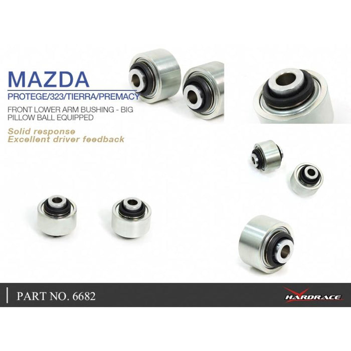 Hard Race Front Lower Arm Bushing Big Mazda, 323, 5/Premacy, Tierra, 98-06, CP 99-05, BJ 98-04