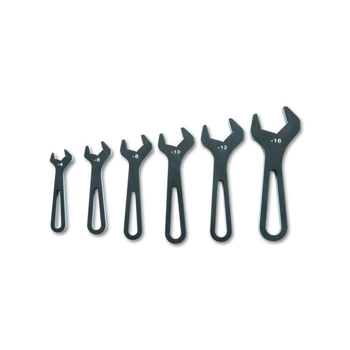 Vibrant AN Fittings Aluminium Spanner Set-Tools & Workshop-Speed Science