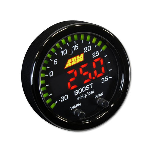 AEM X-Series Boost Gauge