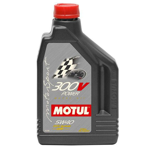 Motul 300V Power Racing Oil - 5W40 (2L)-Oils/Fluids-Speed Science