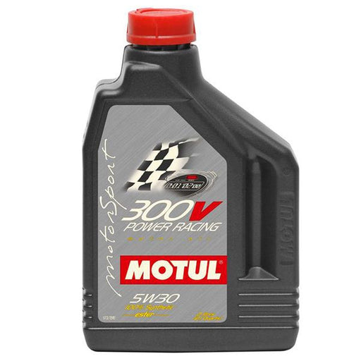 Motul 300V Power Racing Oil - 5W30 (2L)-Oils/Fluids-Speed Science