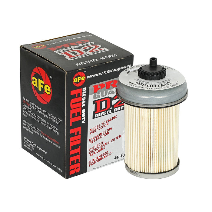 aFe Power Pro Guard D2 Fuel Filter GM Diesel Trucks 92-00 V8-6.2/6.5L (td)