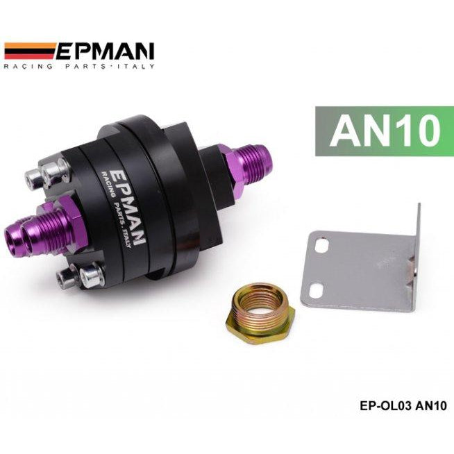 EPMAN Oil Filter Relocation Kit-Oil Sandwich Plates-Speed Science