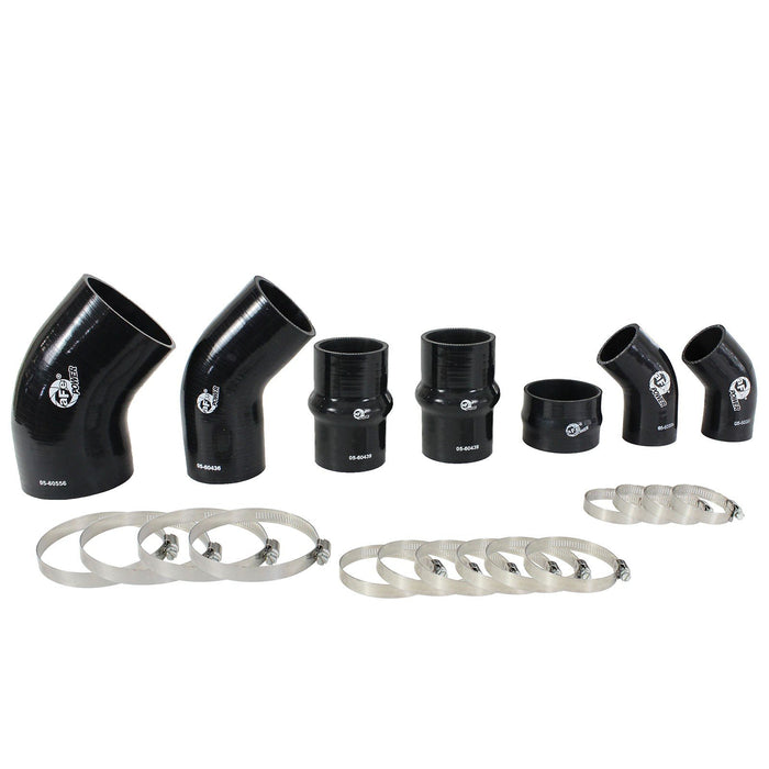 aFe Power BladeRunner Intercooler Couplings & Clamps Kit; aFe Tubes Only Ford F-150 15-19 V6-3.5L (tt)