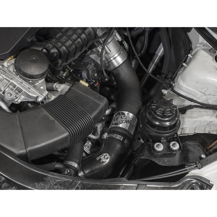 aFe Power BladeRunner 3 IN Aluminum Cold Charge Pipe Black BMW 335i (E9x) 11-13 L6-3.0L (t) N55