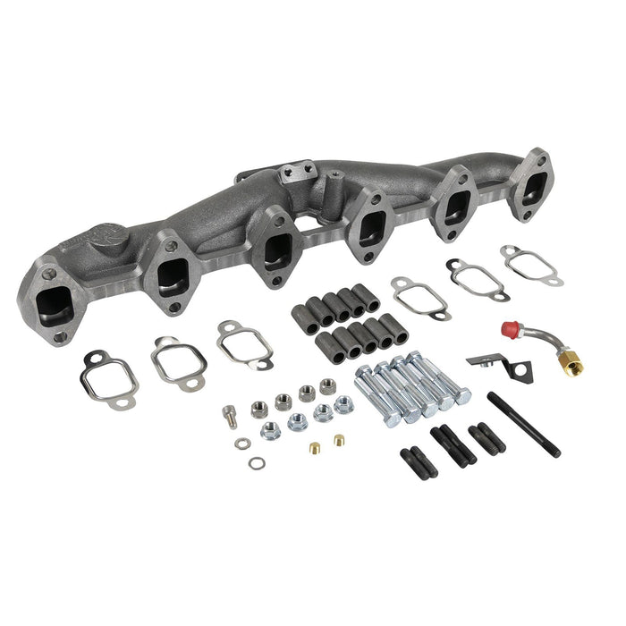 aFe Power BladeRunner Ported Ductile Iron Exhaust Manifold Dodge Diesel Trucks 94-98 L6-5.9L (td)