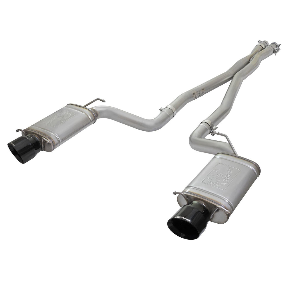 aFe Power Mach Force-Xp 3 IN 304 Stainless Steel Cat-Back Exhaust System Cadillac CTS-V 09-15 V8-6.2L (sc)