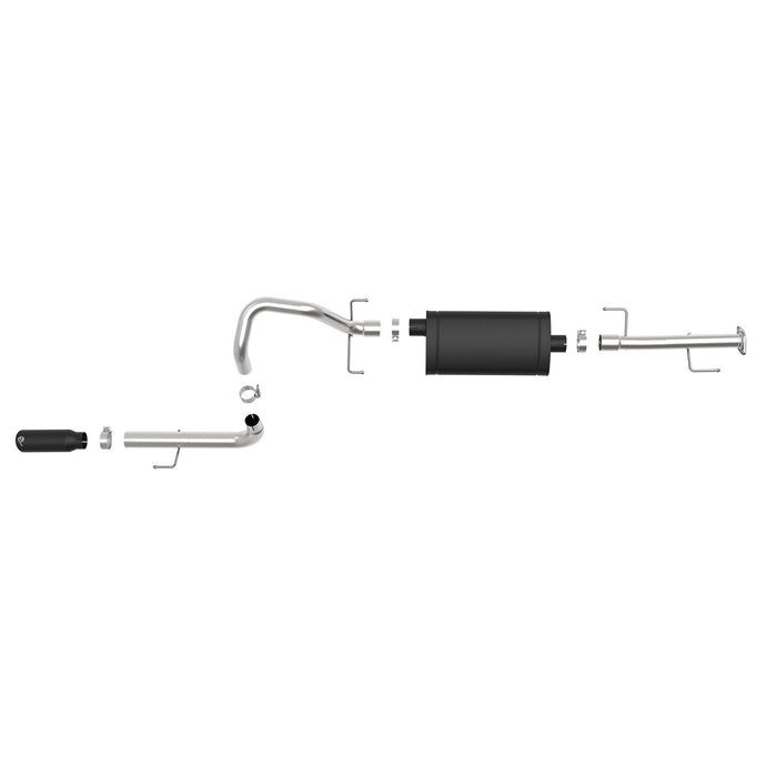 aFe Power Mach Force-Xp 2-1/2 IN 304 Stainless Steel Cat-Back Exhaust System Toyota 4Runner 10-20 V6-4.0L