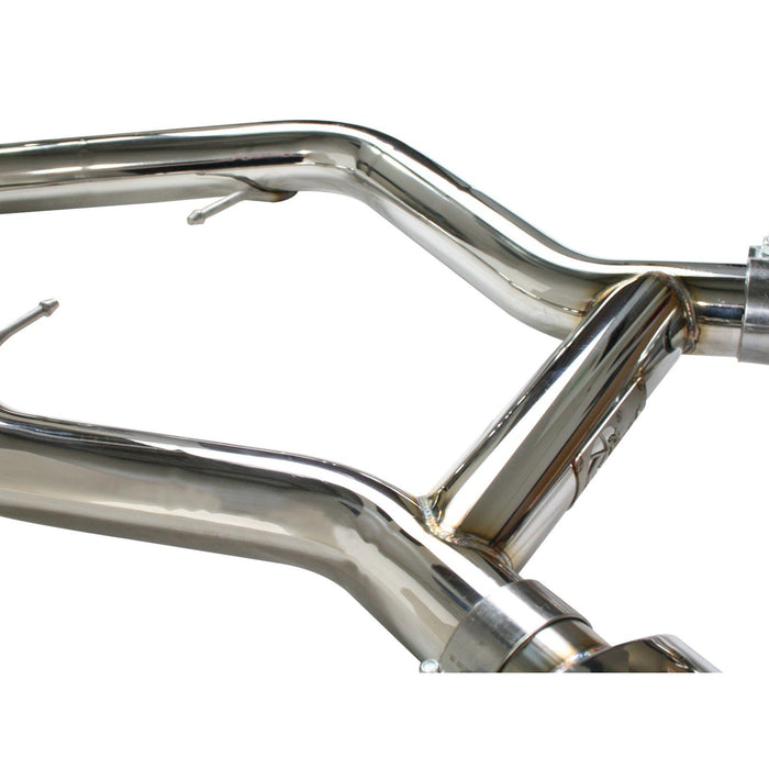 aFe Power Mach Force-Xp 2-3/4 IN 304 Stainless Steel Cat-Back Exhaust System BMW 335i (E90/92/93) 07-10 L6-3.0L (t) N54