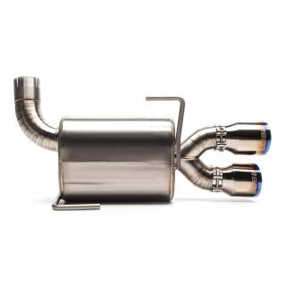 "COBB Subaru Titanium 3"" Cat-Back Exhaust - 11-20 WRX Sedan / 11-20 STI Sedan"
