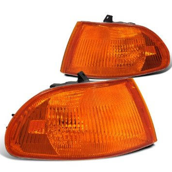 Amber Corner Lights - Civic EG 2/3/4dr-Headlights-Speed Science